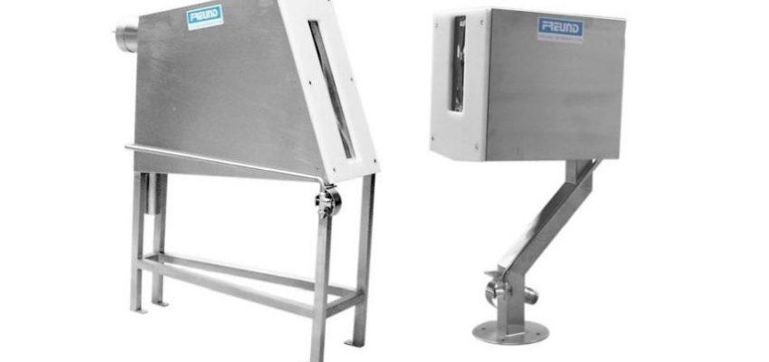 Dwie kabiny dezynfekcyjne, inaczej sterylizatory, firmy FREUND.