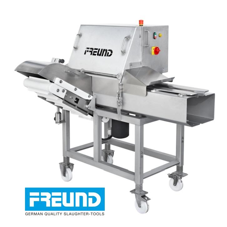 Półautomat do żeberek firmy FREUND, model SRC34.