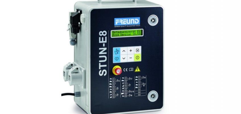 Oszołamiacz elektryczny FREUND STUN, z wyświetlaczem LED.