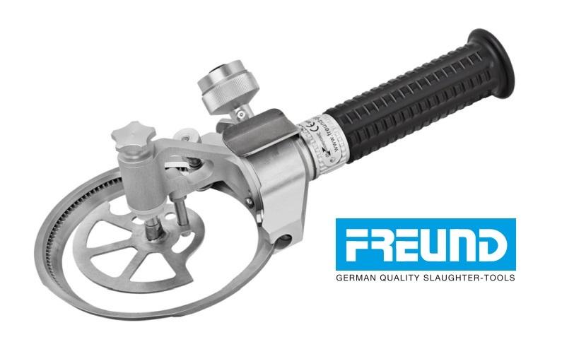 Trymer FREUND Adaptive ze zderzakiem głębokości - zachowaj posiadany silnik, uzupełnij go nowoczesną rękojeścią FREUND.