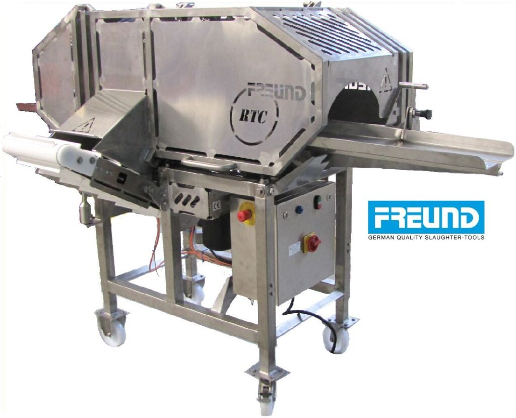 Półautomat do bezodpadowego odcinania kości pokrzepowej FREUND model RTC34